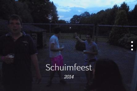 Schuimfeest 2014